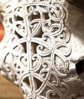 Ox skull Art
