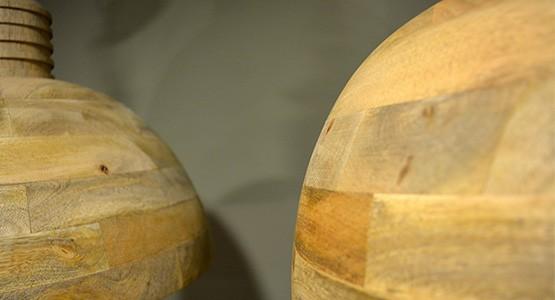 Lamp Wood detail
