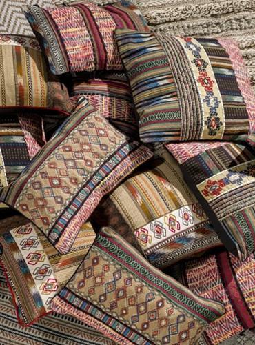 Kussens patchwork