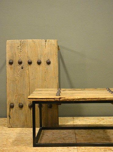 Salontafel oude deur