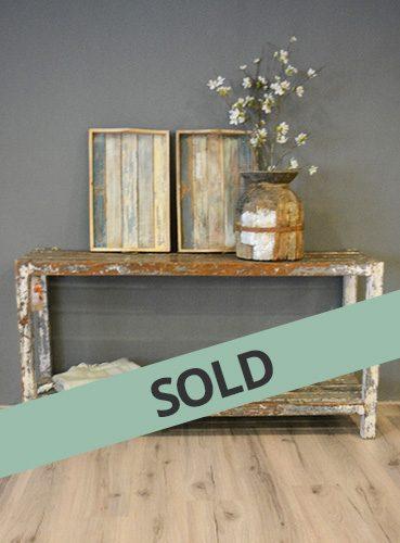 Wooden Rack verkocht