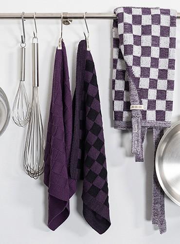 Keukendoek Grote Blok 2 Kleuren Knit Factory