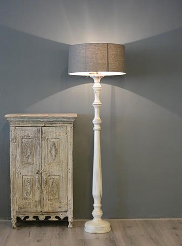 Fonkelnieuw Landelijke lampenvoet XL - Pure Wood Interieur CG-22