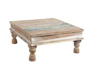 uniek houten tafeltje