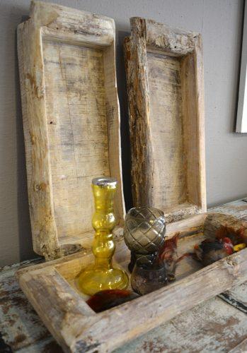 Tray wood uniek