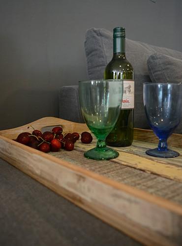Unieke wijn glazen