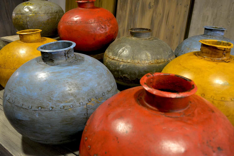 Oude waterpotten uniek