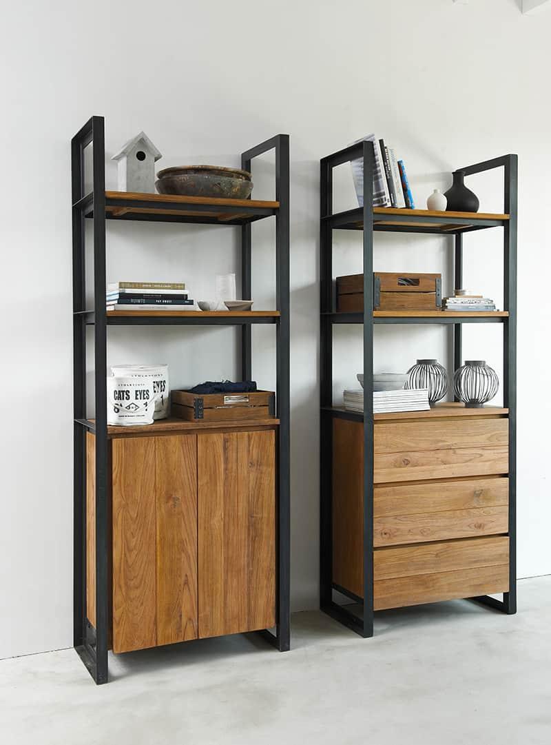 D-Bodhi Fendy boekenkasten Purewood