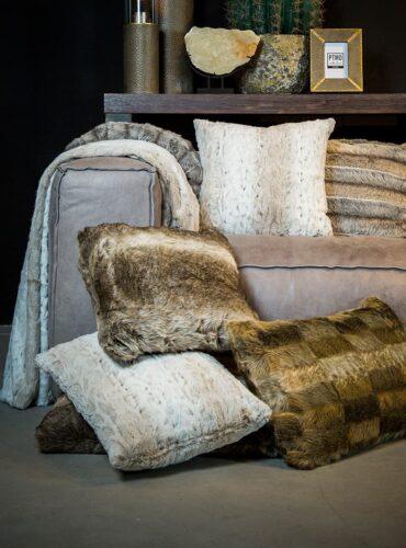 Softly Fake Fur Cushions