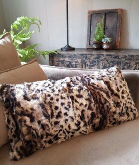 Sierkussen leopard