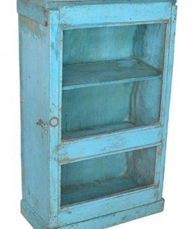 Vintage Hangkastje Blauw