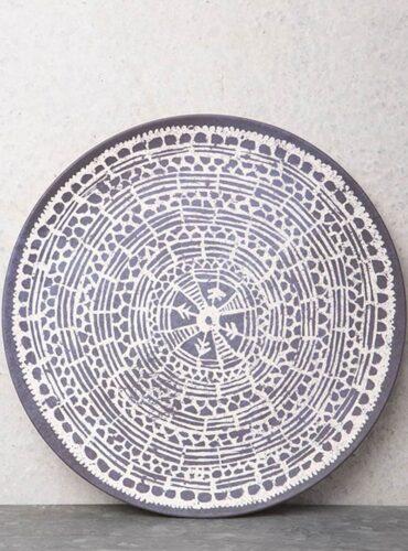 Plate Mandala Indigo