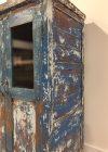 Unieke Kast Blauw India detail - Pure Wood