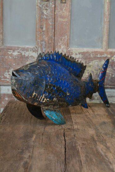 metalen vis