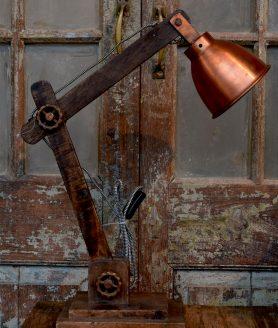 Bureaulamp koper