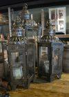 Unieke glazen - ijzeren lantaarns