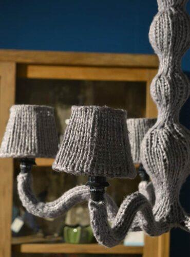 Wollen hanglamp