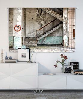 Wandkleed Stairs - Pure Wood