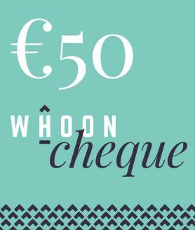 50 euro whoon cadeaubon