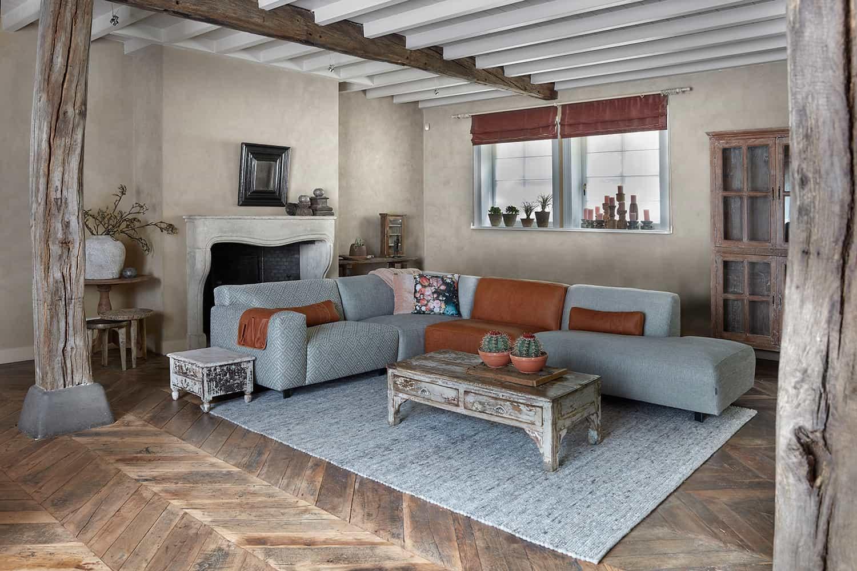 Hoekbank vario purewood for Design hoekbank