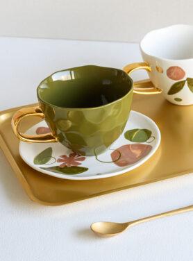 Good Morning cup fir green sfeerfoto