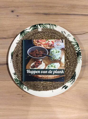 Happen van de plank kookboek
