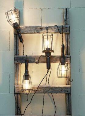 Hanglamp Worker zwart metaal