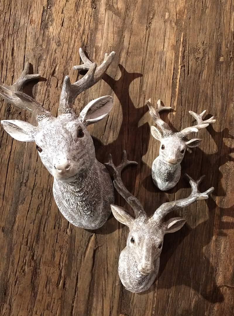 hertenkop wanddecoratie purewood On decoratie hertenkop