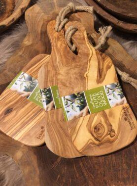 Olijfhouten serveerplank - Pure Wood