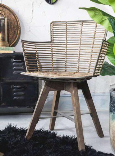 Rotan robuuste stoel
