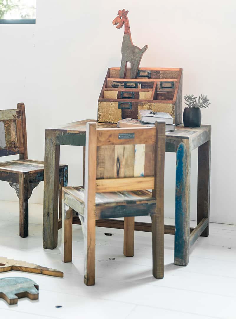 Scrapwood letter box - Pure Wood
