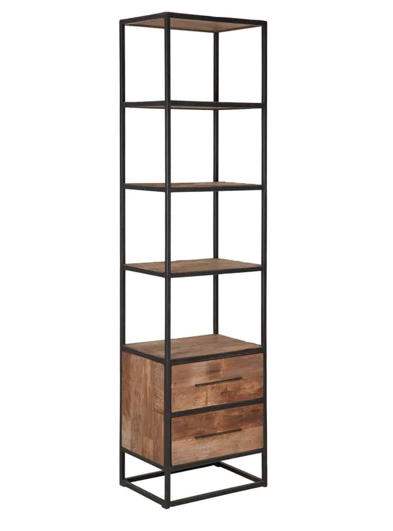 Boekenkast hoog smal purewood - Eigentijdse boekenkast ...