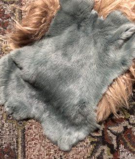 Leuk grijs konijnenvacht