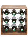 Wijnbox gevuld