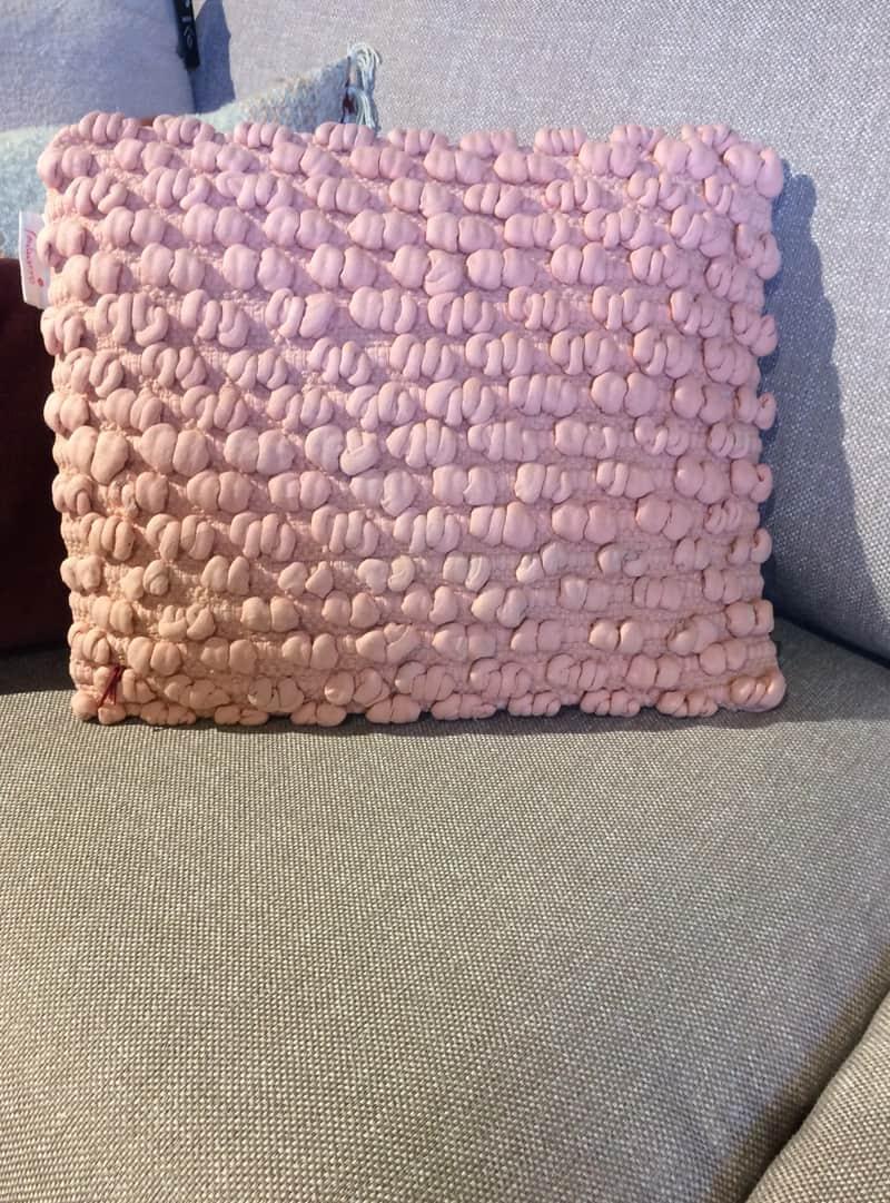 sierkussens oud roze kussen fluweel blad with sierkussens