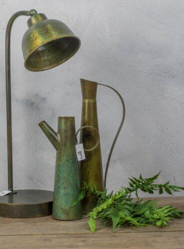 Sfeerfoto groene tafellamp
