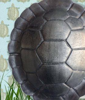 Zwarte schildpaddecor