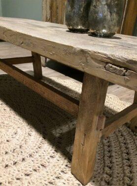 Oude salontafel uit China uniek