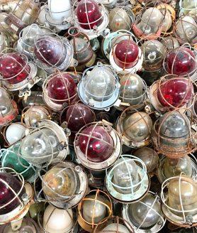 Scheepslamp sfeerfoto