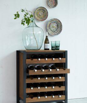 Wijnrek Fendy sfeerfoto