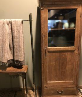 Kast uniek 1 deur naturel