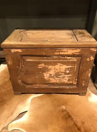 Kist naturel uniek