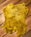 Konijnenvacht oker geel