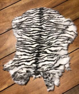 Konijnenvacht zebra