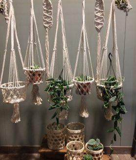 Macrame hangers sfeerfoto