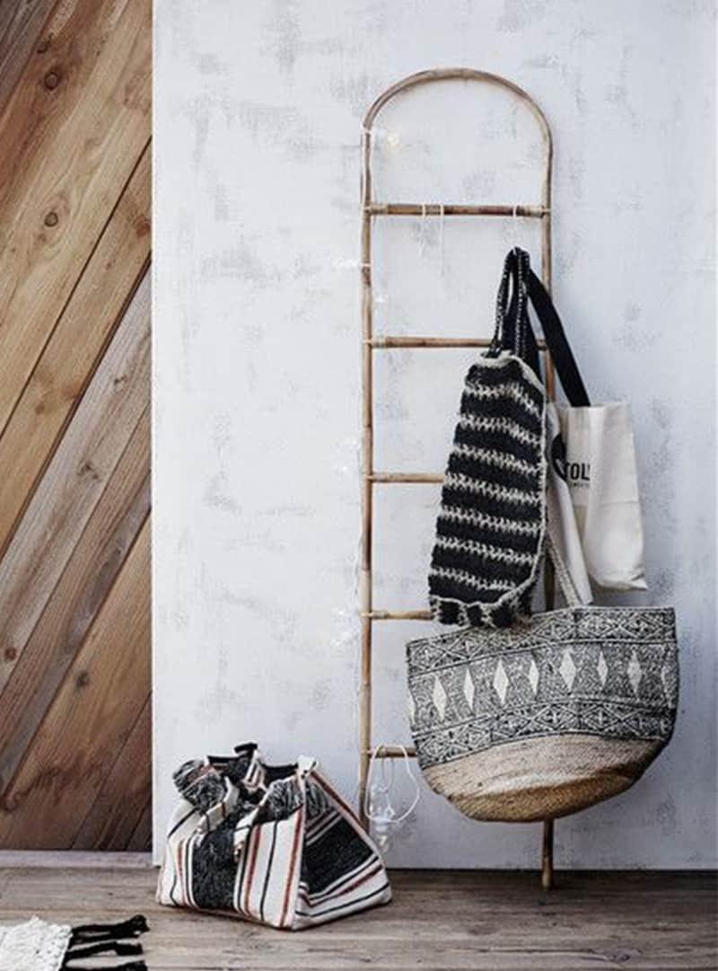 Bamboe Handdoek Ladder.Bamboe Ladder Madam Stoltz Purewood