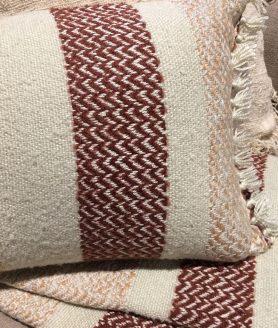 Sierkussen Berber Grainy detailfoto