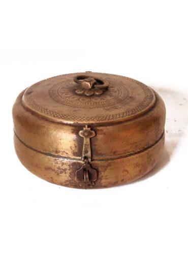 Brass Chapati Box medium