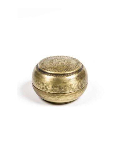 Brass Chapati box mini