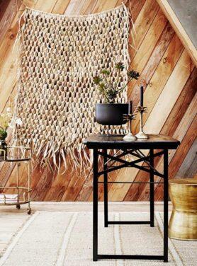 Palm kandelaar - Pure Wood